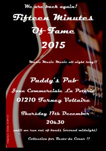 2015 Flyer